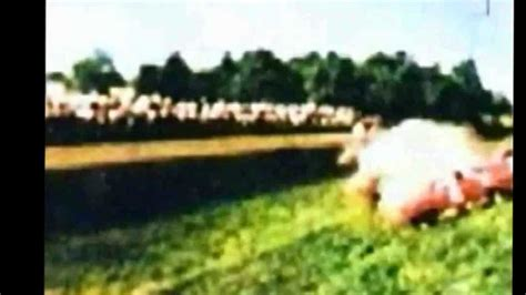 wolfgang von trips monza  rare color footage shot