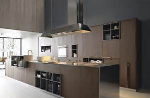 33 modern style cozy wooden kitchen design ideas for Kitchen cabinet trends 2018 combined with sticker dude