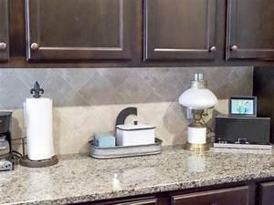 Painting Tiled Kitchen Backsplash