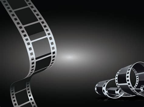 Black And White Animated Wallpapers - black and white cinema powerpoint templates 3d graphics