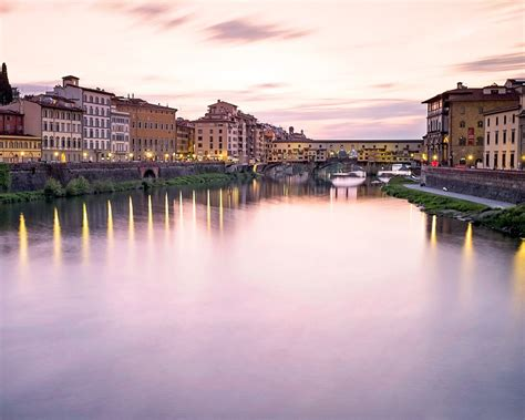 ponte vecchio  sunset florence high quality hd wallpaper