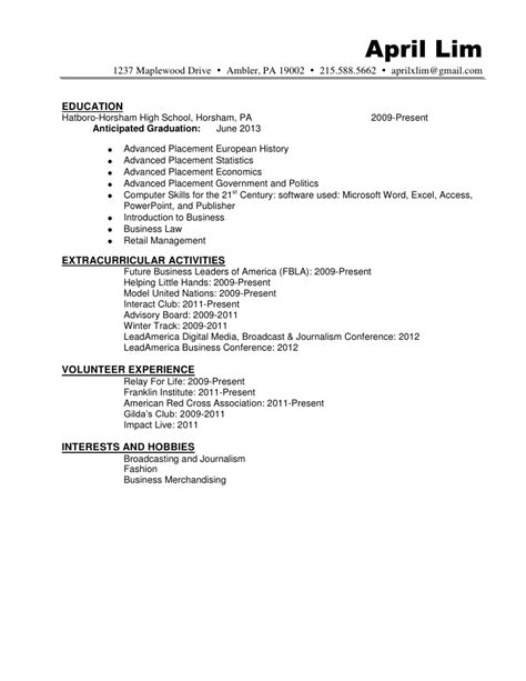resume format resume samples kenya