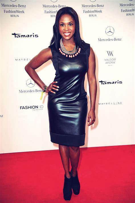 Motsi Mabuse Motsi Mabuse Attends Mercedes Fashion Week Leather