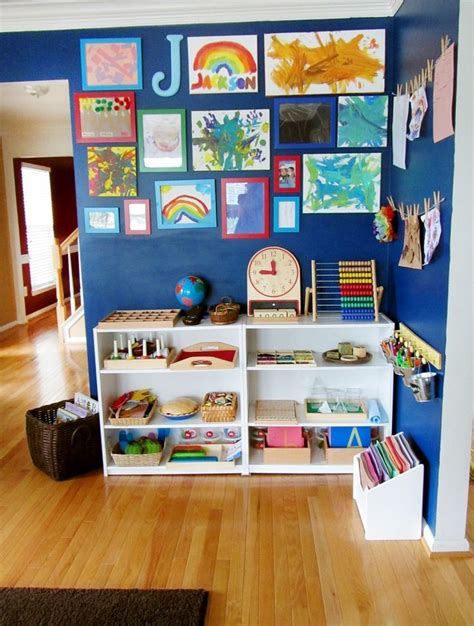 images  montessori shelves  pinterest