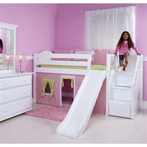 Kinderzimmer Mädchen Mit Rutsche by M 228 Dchenzimmer Mit Einem Bett Mit Rutsche Kinderzimmer