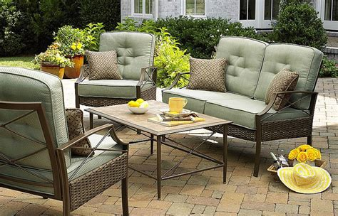 Hton Bay Patio Furniture by Patio Furniture Cushions At Kmart Garden Modern And