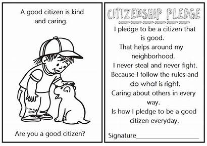 Citizenship Coloring Resoure