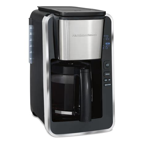 Buy products such as hamilton beach 12 cup programmable coffee maker | model# 49465r at walmart and save. Hamilton Beach Programmable Easy Access Deluxe Coffee Maker - Walmart.com - Walmart.com