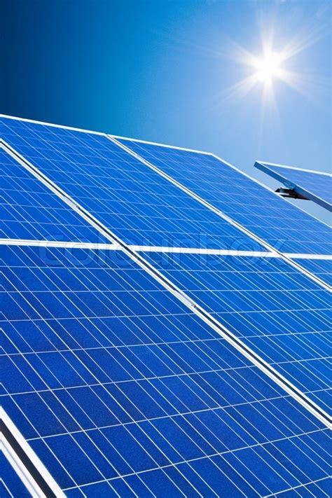 solar system  solar energy  stock photo