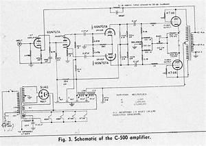 Hi Fi Amplifier Schematics C  1954