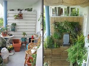 1 balcon en ville amenage comme 1 vrai jardin With amenagement petit jardin exterieur 13 cuisines jardin ete maison amp travaux