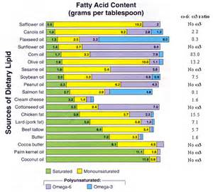 Table 3. Omega ratios within popular dietary fats. Note – animal ...  Diabetes Omega-6 Fatty Acids