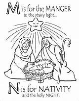 Coloring Pages Nativity Printable Christmas Jesus Scene Manger Sheets Colouring Preschool Sheet Balboa Rocky Xmas Template Lds Getcolorings Printables Outline sketch template