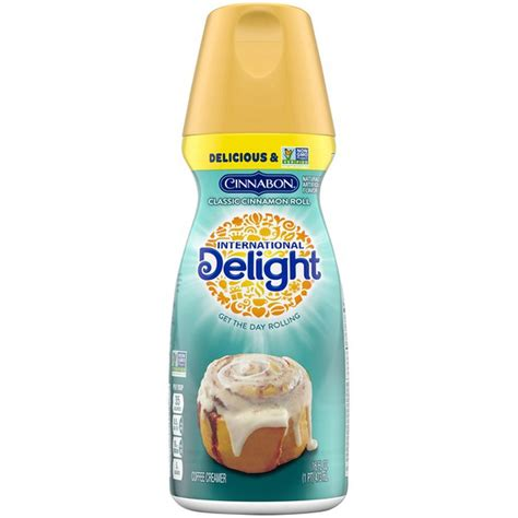 Now, you may notice that there is no sweetened condensed milk in my creamer version. International Delight Cinnabon Classic Cinnamon Roll Coffee Creamer (16 fl oz) - Instacart