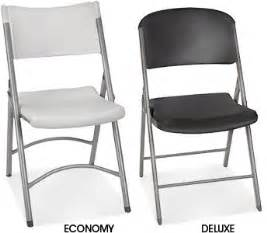 plastic folding chairs in stock uline