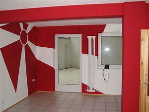 Wände Streichen Farbe : jugendzimmer streichen beispiele ~ Markanthonyermac.com Haus und Dekorationen