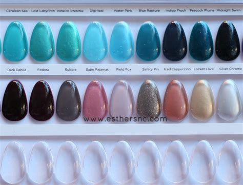 Cnd Shellac Color Collections