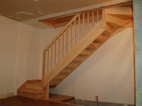 Escalier Bois Quart Tournant. Escalier Quart Tournant Bas
