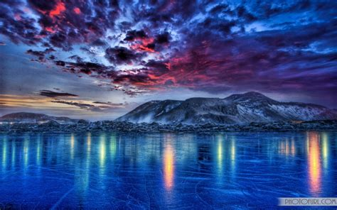 colorful lake mountain wallpapers  wallpapers