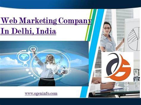 website marketing companies web marketing company in delhi authorstream