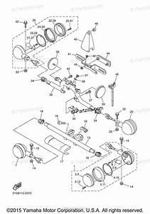 Yamaha Motorcycle 2008 Oem Parts Diagram For Flasher Light