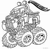 Coloring Monster Truck Digger Grave Drawing Getcolorings Getdrawings Printable Colorin Colorings sketch template