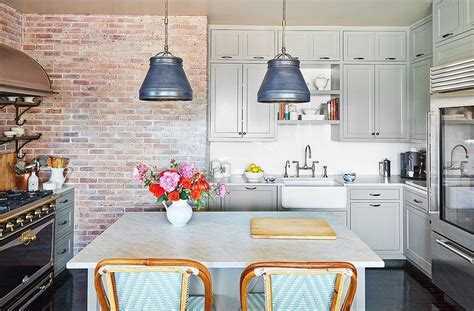 a dated new york kitchen gets a serene sophisticated makeover paint colors industrial and