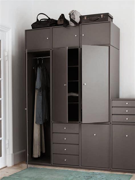 Wardrobe Storage Furniture by Montana Wardrobe In The Colour Coffee Montana Wardrobe Is