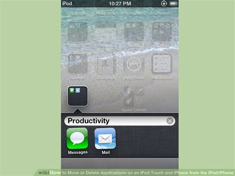 how to move or delete applications on an ipod touch and iphone from the ipod iphone