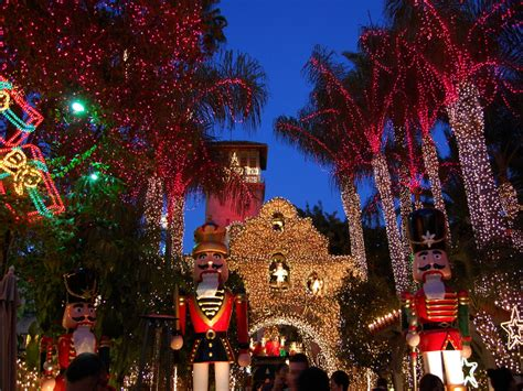 mission inn riverside lights the 20th annual festival of lights illuminates downtown