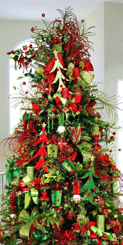 Decorating Trees by Tree Decorations Green Ornaments