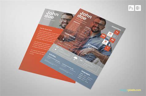 creative psd resume template premium ms word resume