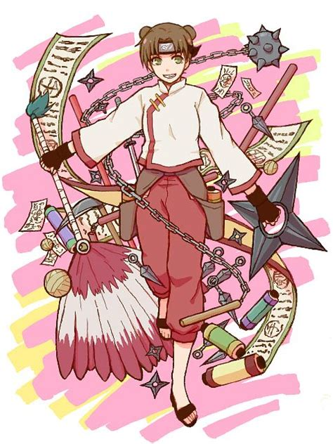 tenten naruto zerochan anime image board