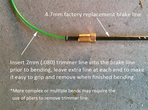 hand bent brake lines  easy yotatech forums