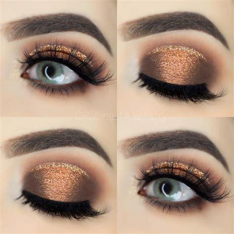 makeup tutorial copper eyeshadow