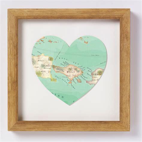 bali map heart print passport stamps  ive