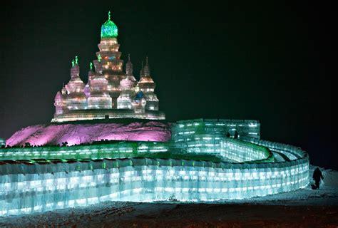 harbin ice  snow sculpture festival   big