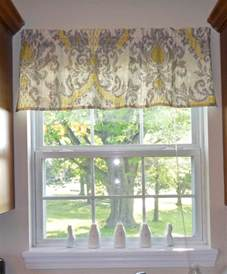 easy to make diy valance living room and decorating