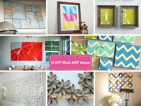 diy wall decorating ideas   makeover  boring walls