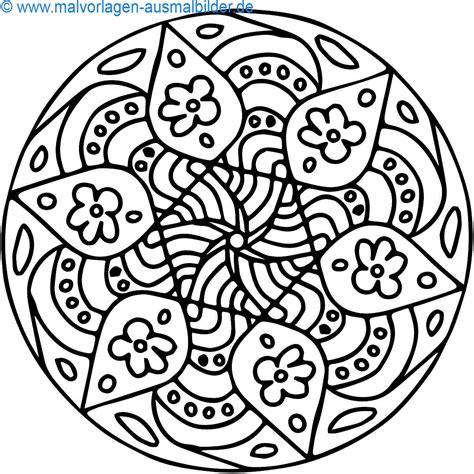 Bilder Groß Drucken by Ausmalbilder Mandala Kostenlos Malvorlagen Zum