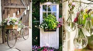 Déco De Jardin : d co jardin pas ch re photos pinterest mon jardin ma ~ Melissatoandfro.com Idées de Décoration