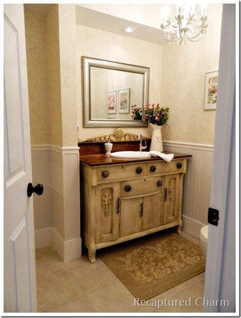 hometalk laundry room powder room