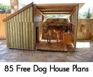 Lovely Outdoor Dog House Plans - New Home Plans Design