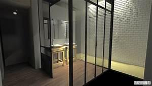 Salle De Bain Style Atelier : dimension h r novation d une salle de bains atypique ~ Teatrodelosmanantiales.com Idées de Décoration
