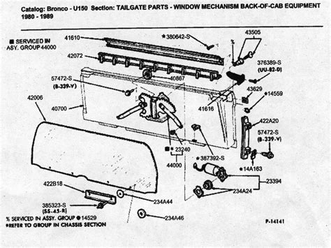 Ford Bronco Rear Window Wiring Diagram