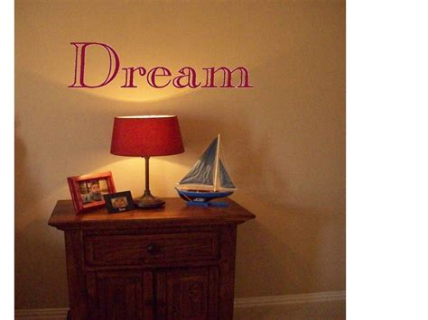 Wall Stickers That Lend A Personal Touch : Dream Wall Decal