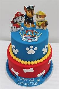 Paw Patrol cake Boys Cakes Pinterest Birthdays