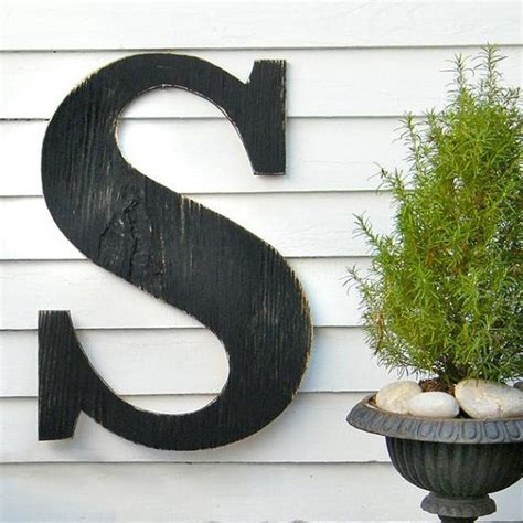"""5 of 5 stars 274 reviews. 24"""" Extra Large Letter Wall Decor Oversized Letter Wooden Letter Big Letter Rustic Decor Wedding ..."""