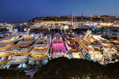 monaco yacht show  yachts  display yachts