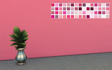 shades of pink walls at veranka sims 4 updates